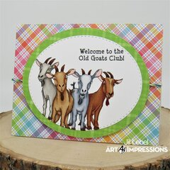Old Goats Club Birthday Cards