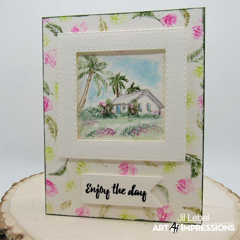 Tropica Art Impression Watercolor Cards