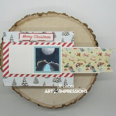 Hamster Critter Cubbies Waterfall Card