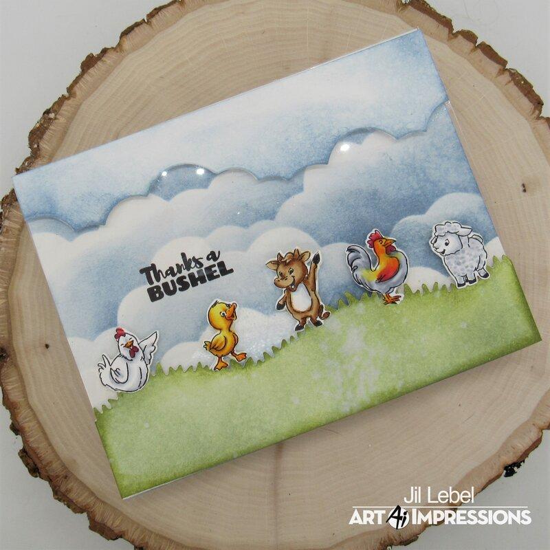 Barnyard Cubbies Card