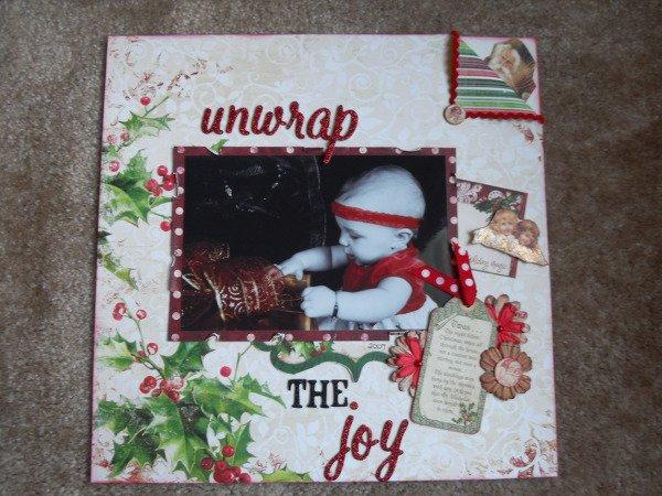 Unwrap the joy