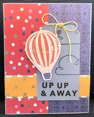 Up Up and Away Grad card