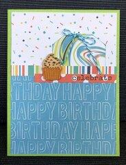 Photo play party animal birthday card