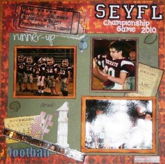 SEYFL Championship