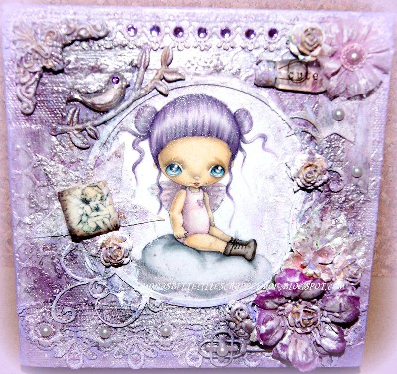 Cloud Lily Canvas