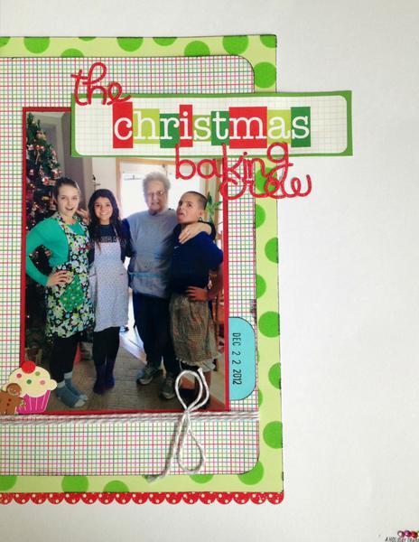 The Christmas Baking Crew