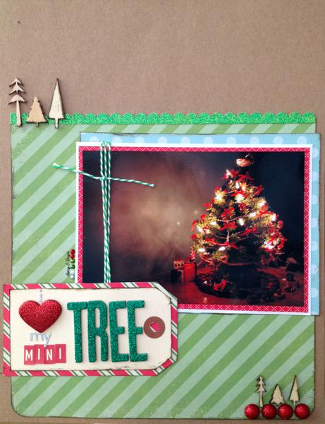 I Love My Mini Tree