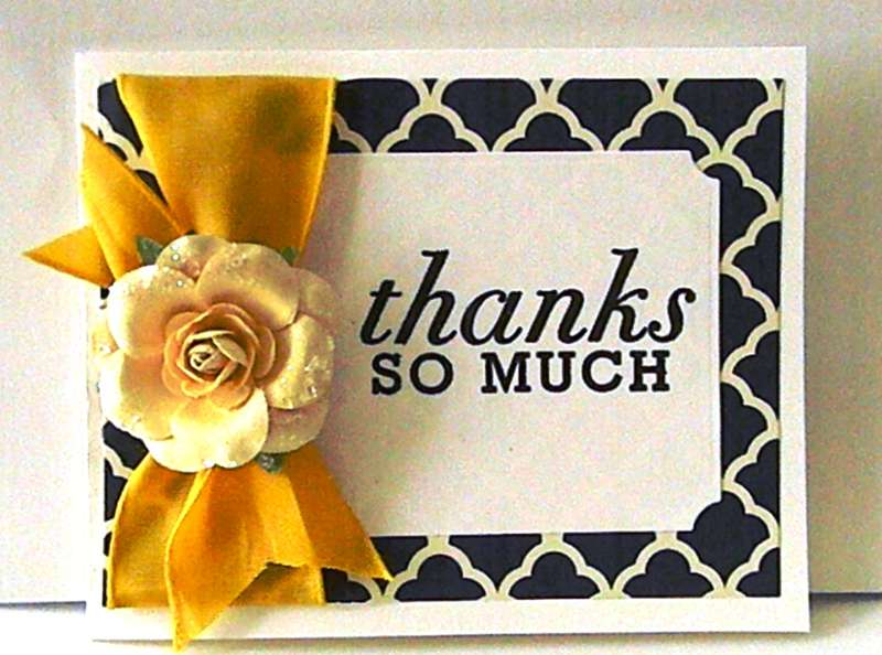 Thank you card #5