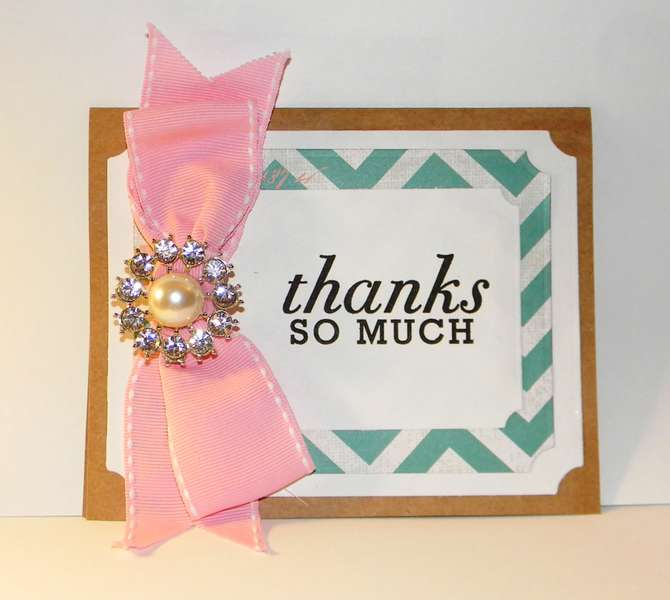 Thank you card #7