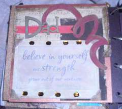 Fathers Day Memory/Altered Book