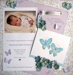 Mackenzie Birth announcement