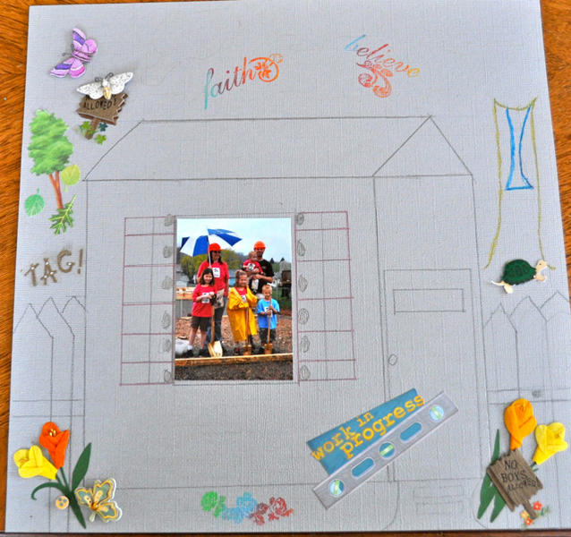 Union/Snyder Habitat for Humanity's Scrapbook-2012