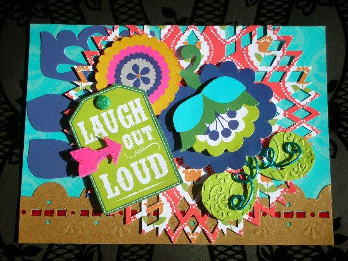 Gabbie Laugh Out Loud Card