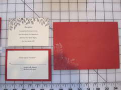 Reception and response cards, outer envelope