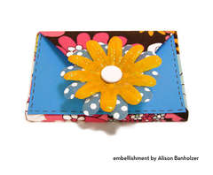 Floral Gift Card Envelope