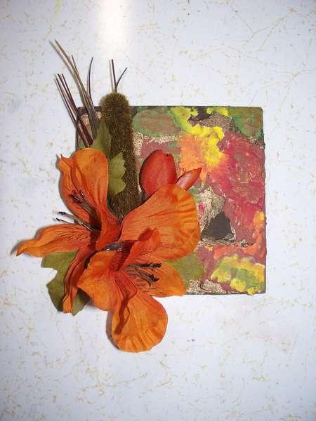 Altered Tile - Autumn / Fall