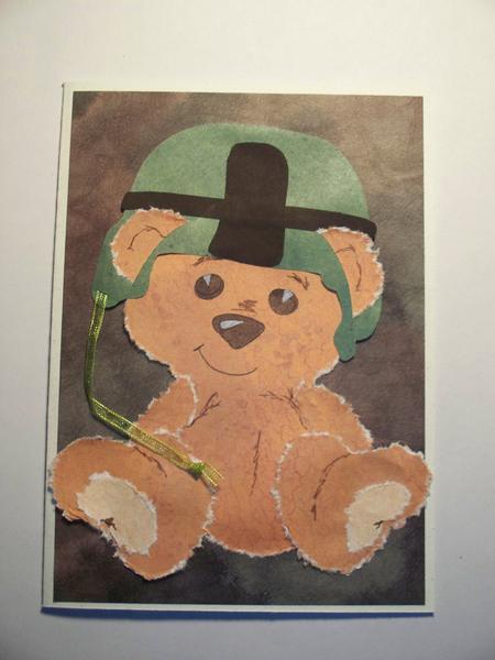 Birthday Card - Soldier