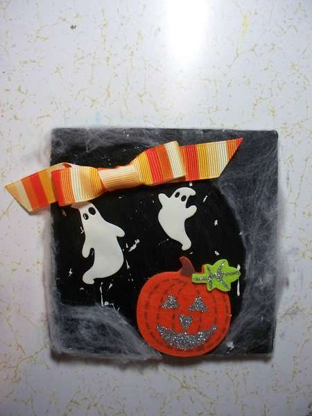 Altered Tile Swap - Cute Halloween