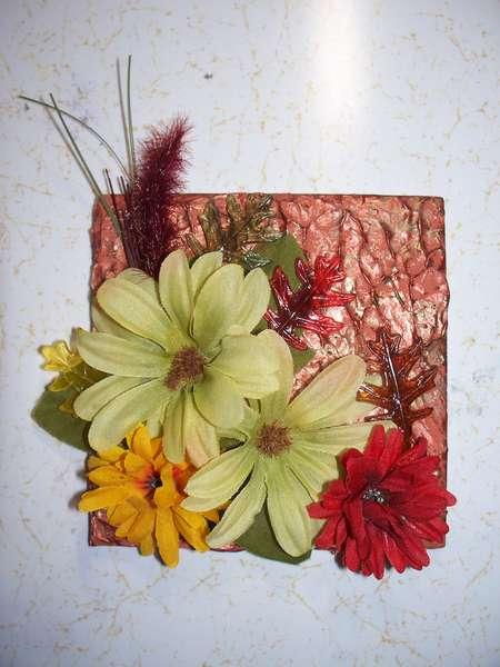 Altered Tile - Autumn