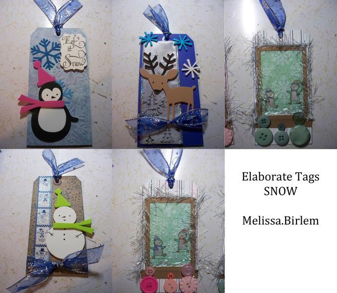 Elaborate Tags - Snow