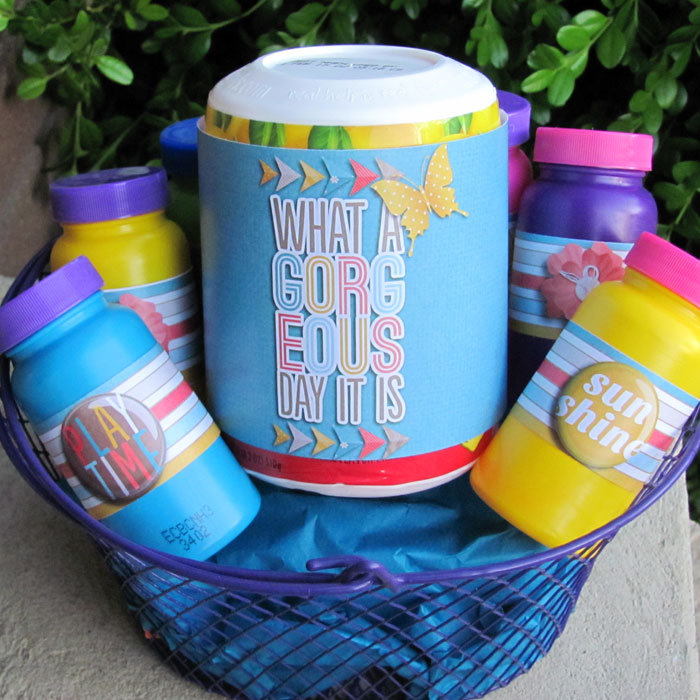 Bubbles Gift Basket