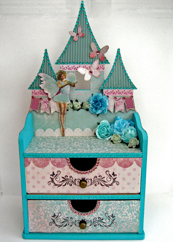 Kaisercraft Fairy Castle Jewellery Box