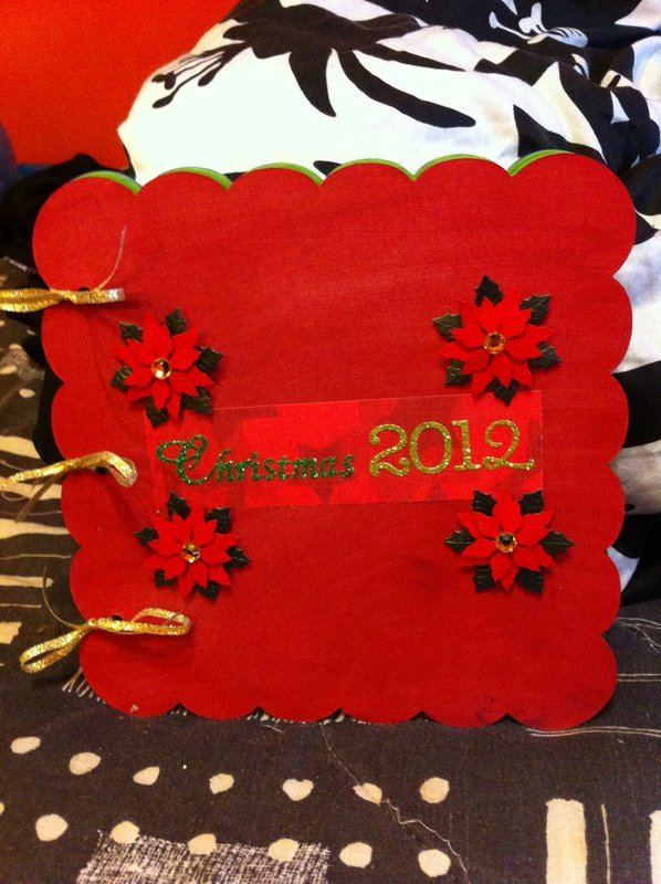 Christmas 2012 ~Create A Mini Book Challenge