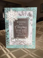 Wishing You Christmas Memories card
