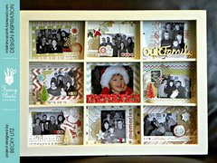 Christmas Memories Shadow Box