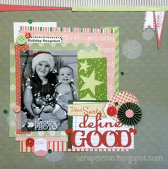 Dear Santa: Define 'Good' *Elle's Studio*