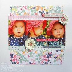 Mommy's little Rag Doll *MyCreativeScrapbookkitclub*