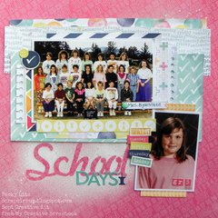School Days *MyCreativeScrapbookkitclub*