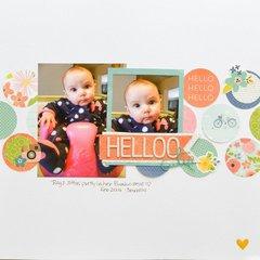 Helooo Cutie *My Creative Scrapbook kit club*