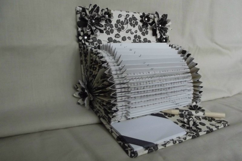 up cycled book