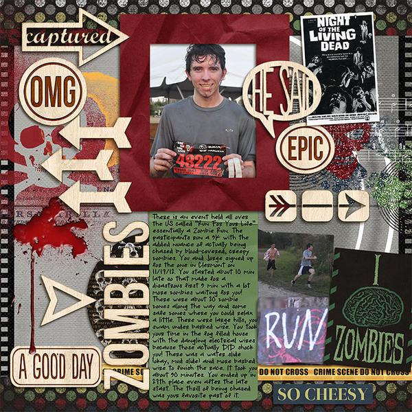 T Zombie Run