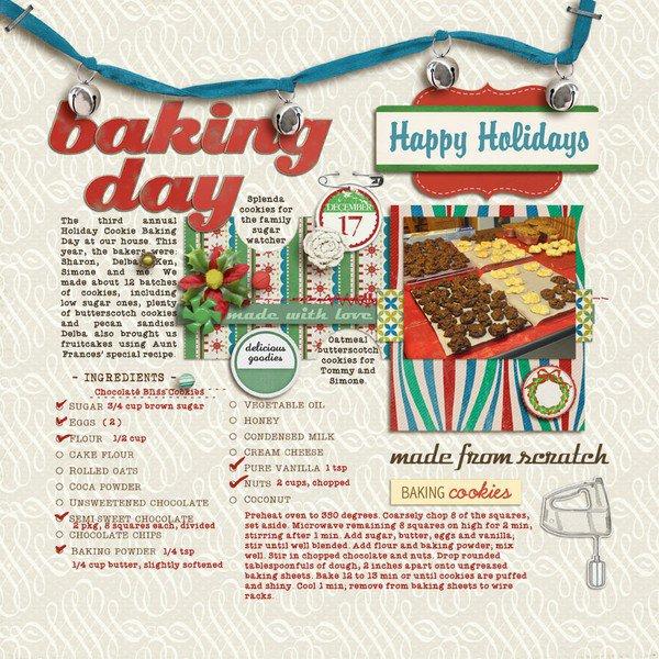 Baking Day 2011