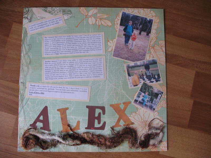 Alex's page!