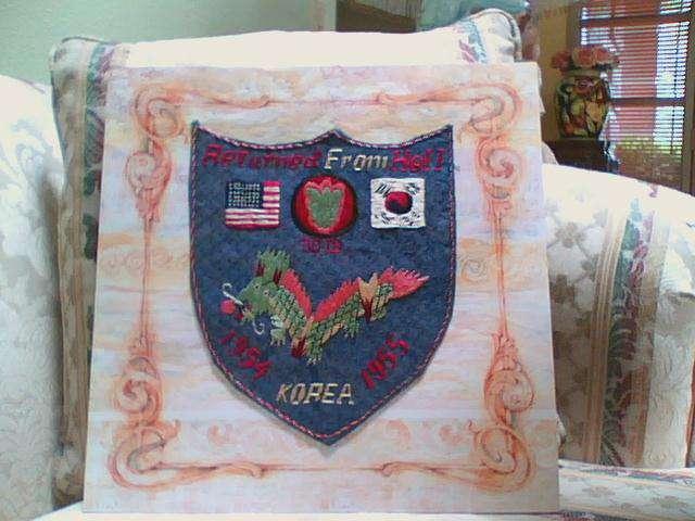 Army symbol Korea war