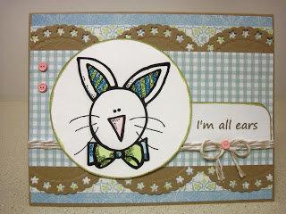 Im All Ears Bunny Card