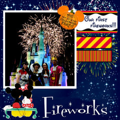 OUR 1ST. FIREWORKS AT MAGIC KINGDOM (2011)