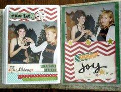 CHRISTMAS VINTAGE BRAG ALBUM