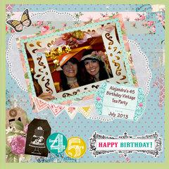 OUR FRIEND ALEJANDRA'S 45th BIRTHDAY - 1