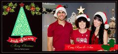 CHRISTMAS CARD 2015 (WITH PHOTO) 1