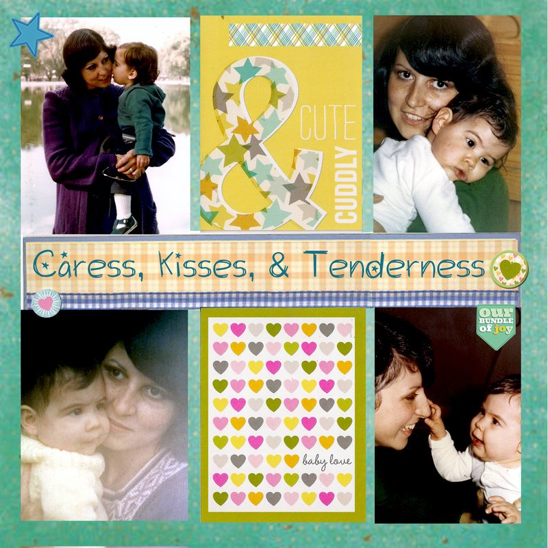 CARESS, KISSES AND TENDERNESS