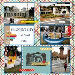 CHILDREN'S CITY - 1ST. VISIT - 1985