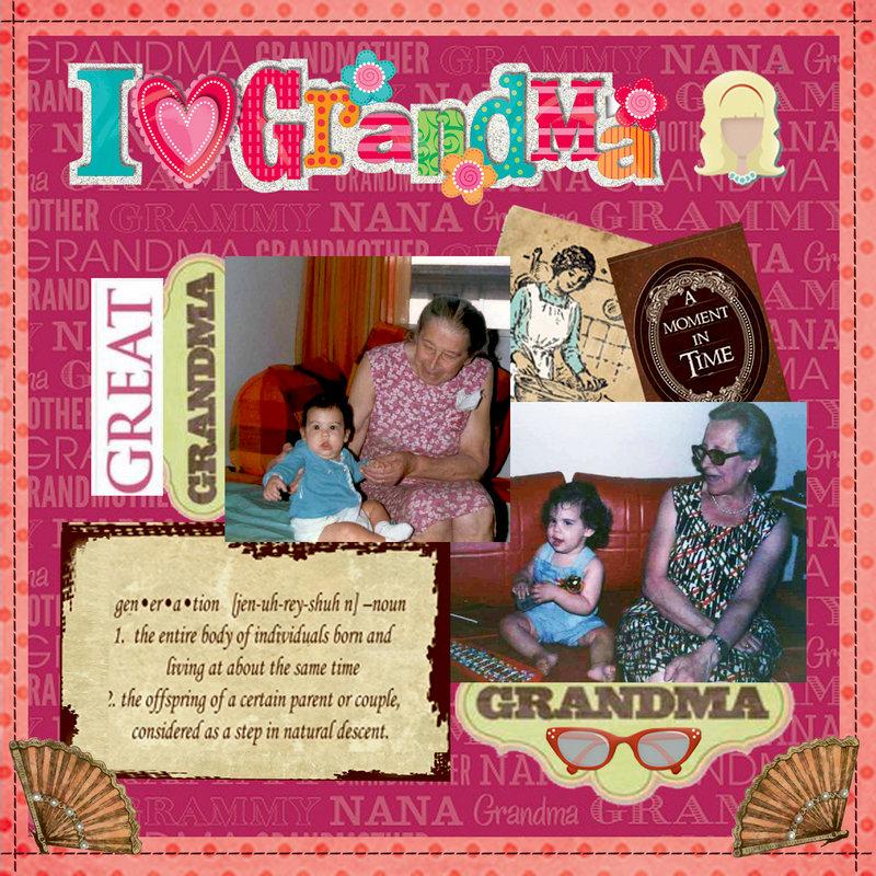 GRANDMA AND GREAT-GRANDMA - 1981