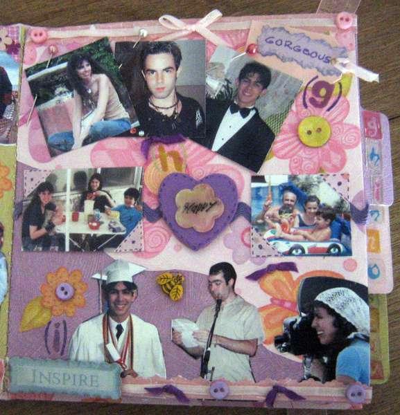 MINI ALBUM A-Z - 4x4 - PAGE G, H, I