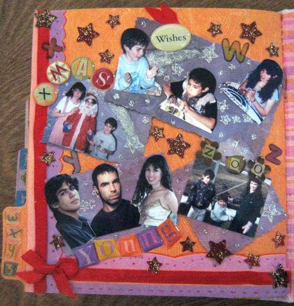 MINI ALBUM A-Z - 4x4 - PAGE W, X, Y, Z