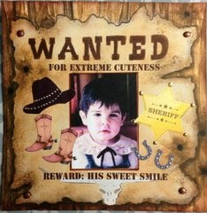 WANTED (MY MIDDLE SON AT TWO)