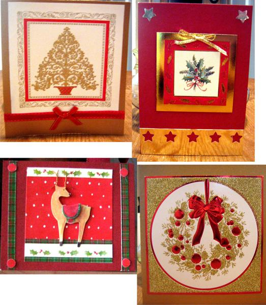 RECYCLING OLD X-MAS CARDS AND TAGS 3